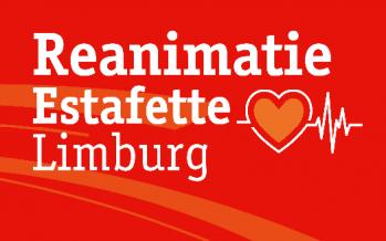 Duncan belt met Jack van Oppen over Reanimatie-Estafette Limburg