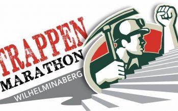 Danny Roufs aan de telefoon bij Duncan over Trappenmarathon Wilhelminaberg