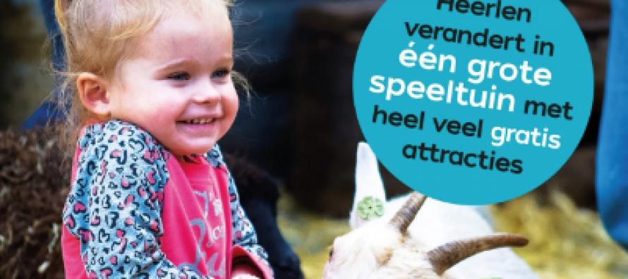 Dit weekend zijn kinderen de baas in Heerlen