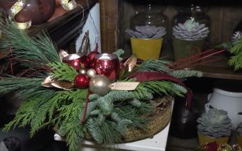 De weg naar Kerst – Bloemsierkunst Lempers