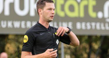 Landgraafse scheidsrechter Robin Hensgens maakt debuut in Eredivisie