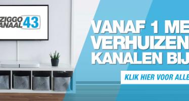 Vanaf 1 mei nieuwe Ziggo kanalen voor RTV Parkstad