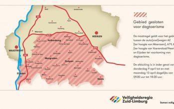 Heuvelland op slot voor dagtoerisme