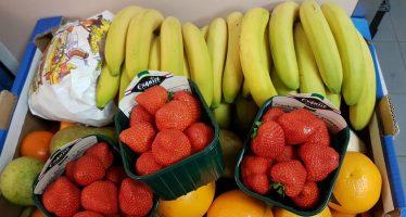 Zamel fruit in voor de mensen in de zorg
