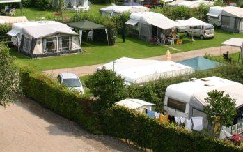 Nazomerdrukte op Zuid-Limburgse campings