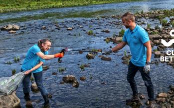 Duizenden vrijwilligers maken schoon tijdens Maas Cleanup