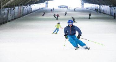 SnowWorld was weer een dag open